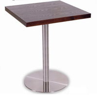 Promotioned melamine& laminate 4cm thickness table top dining table