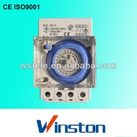 CE SUL181H 24 hours minutes with battery Din Rail Mechanical countdown timer
