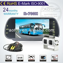7 Inch vga tft lcd monitor Support Bluetooth /MP5/USB/SD card,Remote control,OSD menu,Super wide voltage