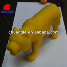 Resin wild panther, panther model, panther statue