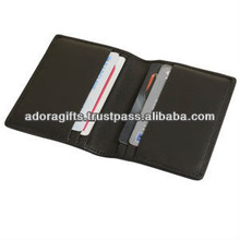 Latest designed ATM card holders / credit card holders soft leather / foldable business card cases