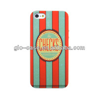 for iPhone 5 5G 5s leather lagging back cases cover with retail package
