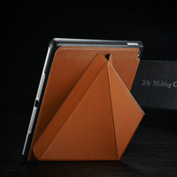 Free Shipping Folding Case For iPad Air 5, Luxury Stand Leather Case For iPad Air, hot selling protector for iPad 5 Smart Cover