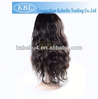 Hot sele brazilian remy human hair full lace wig