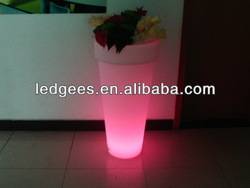 china wholesale led flower pot