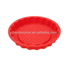 2015 new arrival bakeware silicone round shaped cake decorating molds, silicone molds for microwave cake