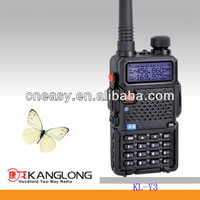 VOX function and strong antijamming and light digital KL-Y3 two way radio