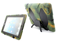 Hot selling stylish military duty shockproof silicone tablet case for iPad 3 iPad 4