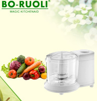 BRL7001 350ML 100W White Black color traditional mini chopper