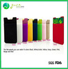 phone accessory 3m sticky silicone mobile phone case card holder wallet