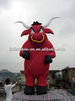 Inflatable Statue(Red Bull) inflatable cartoon Inflatable cartoon characters Advertising inflatable cartoon