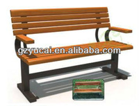Park bench wood chair