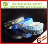 Colorful Debossed Silicone Wristband
