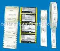 Battery label/sticker, self-adhesive label/pvc sticker paper sheets