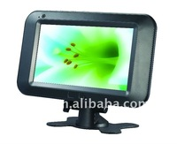 7 inch portable android digital solar TV