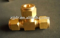 brass connector T connector for mist system