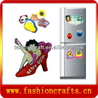 Fashionable 3d soft pvc fridge manget_fridge magnet