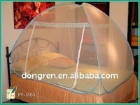 stainless steel pop up folding mosquito nets for twin bed for DRPMN