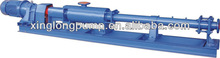 Xinglong helical screw pumps for liquids of various viscosity