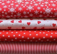Cotton X-Mas Design Print Fabrics For Mattress