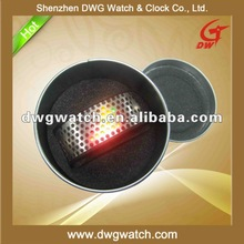 2012 Fashion LED Watch with Zinc Alloy Case and Stainless Steel and Plastic Material Band DWG--D0001