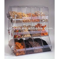 Stackable Acrylic Bulk Food Bin