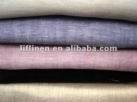 pure flax light linen gauze fabric
