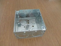 "4""X4""X2-1/8"" Deep welded steel switch cabinet box;junction distribution box"