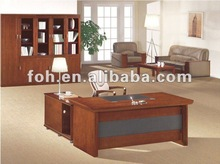 Straight Edge Small Type Manager Office Desk(FOHK-1657)