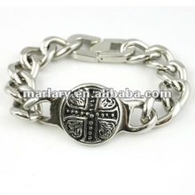 Stainless Steel Gothic Biker Chain Bracelet Jewelry
