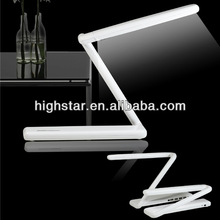 Foldable Touch Sensitive 4 Port USB Table Lamp