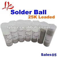 BGA Reballing kit 25K Leaded BGA Solder Balls 0.25/0.3/0.35/0.4/0.45/0.5/0.55/0.6/0.65/0.76mm For BGA Rework Reballing