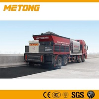 Asphalt Synchronous chip sealer, Distribute Bitumen And Aggregate ,chipping machne