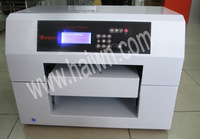 Rotating system UV flatbed printer directly print Cosmetic bottle ,glass bottle ,etc