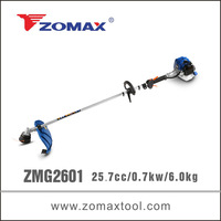 grass cutter 26cc ZMG2601 0.7kw grass trimmer spare parts to chinese manufacturers