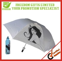 Promotion Customized Logo Plastic Magic Umbrellas