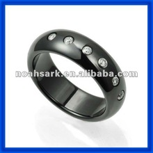 Fashion jewelry hot bulk wholesale Ceramic Super Saddle Ring TPCR124