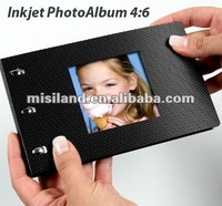 DIY Inkjet photo book 4x6 size with black cover (Promotion gifts Best Choice)