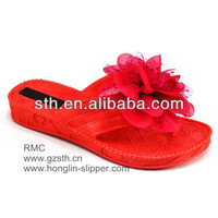 EVA Foam Injection Latest Sandals For Woman 2013