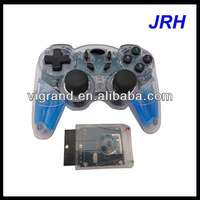 with double vibration 2.4G wireless joystick for PS2
