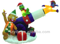 christmas Inflatable cannon toys decorations