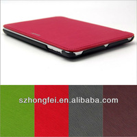 notebook PU leather case for iPad mini with auto wake up and sleep function