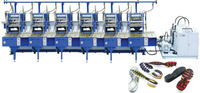 Fully Automatic Rubber Sole Compression Moulding Machine