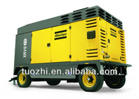 Atlas Copco XRVS476 portable screw air compressor for mining