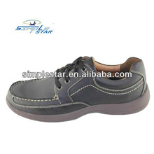Hot selling casual genuine leather shoe for men 2013