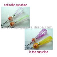 UV mobile phone accessories, color changing accessories