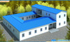 prefabricated steel building and prefabricated mobile house and prefabricated poultry farm