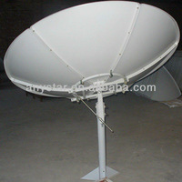 c band 180cm satellite antenna polar mount