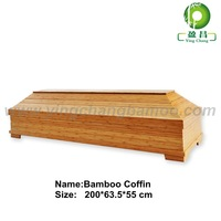 bamboo coffin Casket