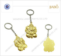 2014 years High quality customized made custom 3d promotional metal keychains